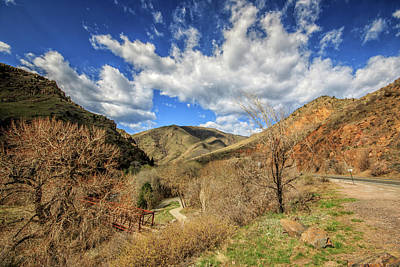 Photograph - Golden Colorado Scenic Byway by Peter Ciro