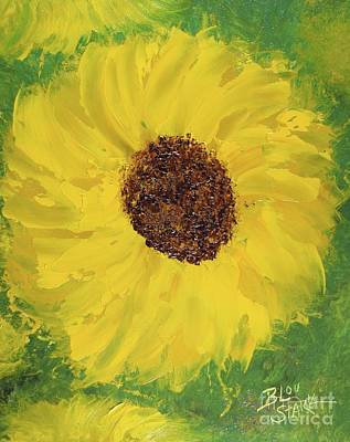 Painting - Golden Coneflower by Barrie Stark