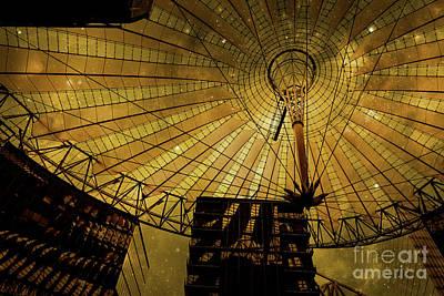 Photograph - Golden Cosmic Berlin by Brenda Kean