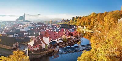 Photograph - Golden Czech Republic by JR Photography