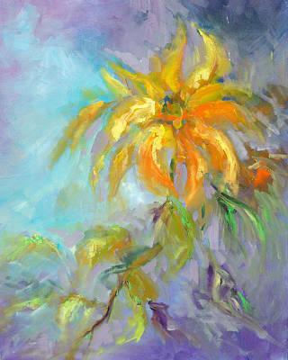 Golden Dahlia Original