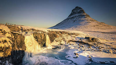 Photograph - Golden Dawn At Kirkjufell by James Billings