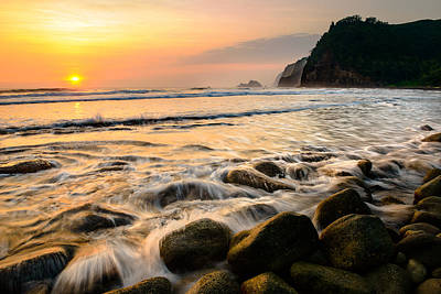 Photograph - Golden Dawn In Pololu Valley by Mark Robert Rogers