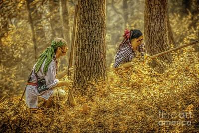 Digital Art - Golden Days Of Fall  by Randy Steele