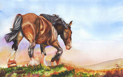 Painting - Golden Days by Peter Williams