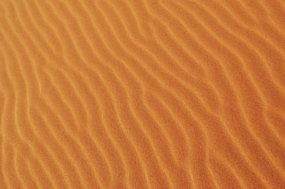 Golden Desert Sands Art Print