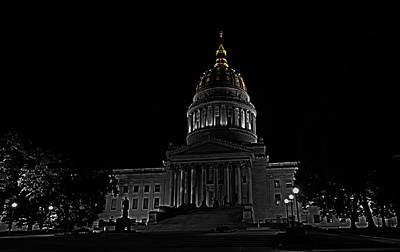 Photograph - Golden Dome by Daniel Houghton
