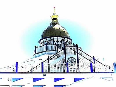 Photograph - Golden Dome Eastbourne Pier by Dorothy Berry-Lound
