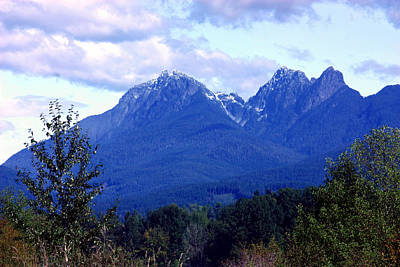 Photograph - Golden Ears Mountain by Barbara  White