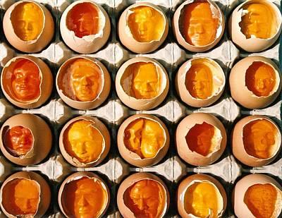 Golden Eggs 2 Art Print by Mark Cawood
