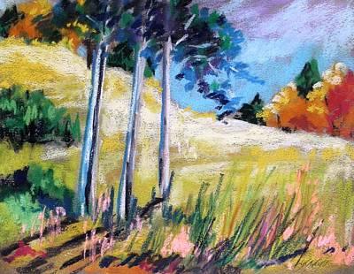 Golden Fields Art Print by John Williams