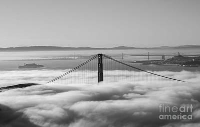 Photograph - Golden Fog by David Bearden