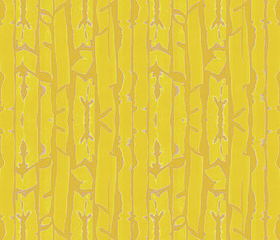 Digital Art - Golden Fronds by Vagabond Folk Art - Virginia Vivier