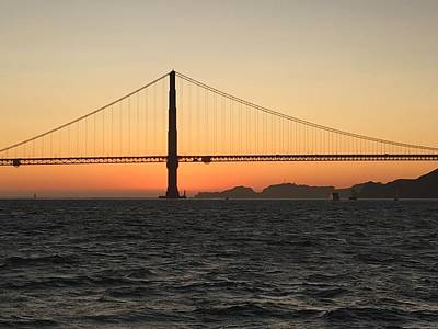 Photograph - Golden Gate  by Neal Barbosa