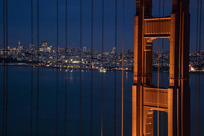 Photograph - Golden Gate And City by John McGraw