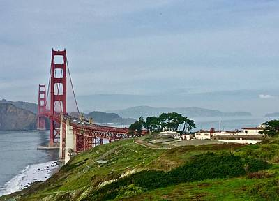 Photograph - Golden Gate And San Francisco Bay by Lynda Anne Williams