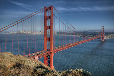 Golden Gate Print by Andreas Freund