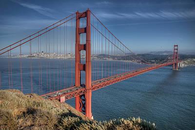 Golden Gate Art Print by Andreas Freund