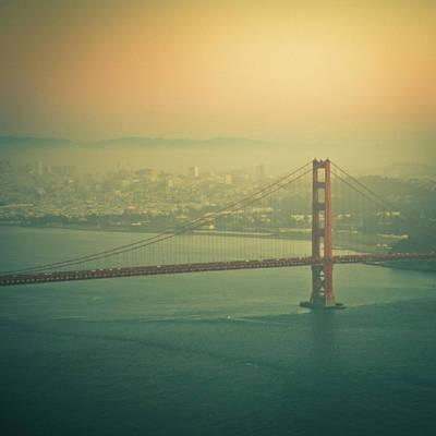 Built Structure Photograph - Golden Gate Bridge by © Reny Preussker