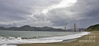 Photograph - Golden Gate Study #2 by Joyce Creswell
