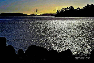 Photograph - Golden Gate Bridge 2 by Diane montana Jansson