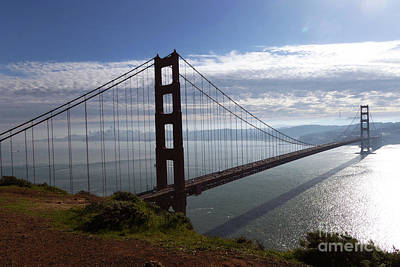 Photograph - Golden Gate Bridge-2 by Steven Spak