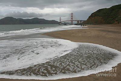 Photograph - Golden Gate Study #3 by Joyce Creswell