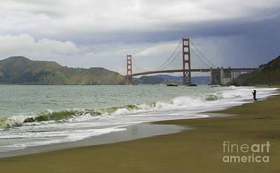 Photograph - Golden Gate Bridge #4 by Joyce Creswell
