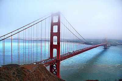 Photograph -  Golden Gate Bridge by Abram House