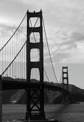 Photograph - Golden Gate Bridge by Aidan Moran