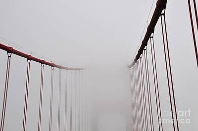 Photograph - Golden Gate Bridge  by Akshay Thaker-PhotOvation