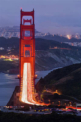 Photograph - Golden Gate Bridge by Alexis Birkill