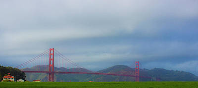Photograph - Golden Gate Bridge by Alexis Lee Scott