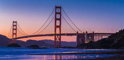 Photograph - Golden Gate Bridge Blues by Scott Campbell