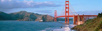 Golden Gate Bridge Ca Art Print by Panoramic Images