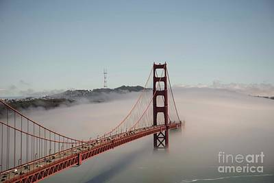 Photograph - Golden Gate Bridge by David Bearden