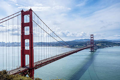 Photograph - Golden Gate Bridge Daytime by John McArthur