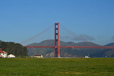 Photograph - Golden Gate Bridge by Dean Ferreira