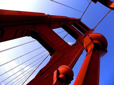 Photograph - Golden Gate Bridge by Elizabeth Hoskinson