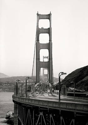 Photograph - Golden Gate Bridge Full On by Daniel Hagerman
