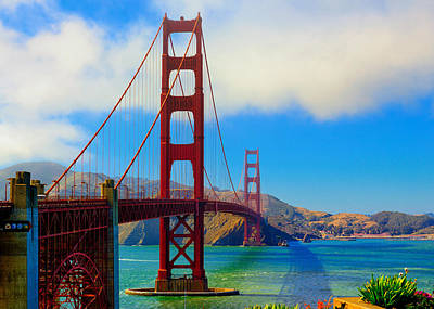 Photograph - Golden Gate Bridge by Greg Norrell