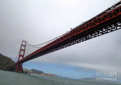 Photograph - Golden Gate Bridge by Gregory Dyer