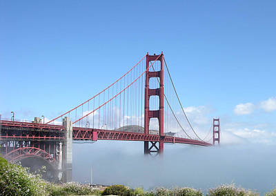 Photograph - Golden Gate Bridge by Helen Haw