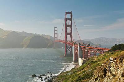 Built Structure Photograph - Golden Gate Bridge by Ian Morrison