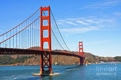 Photograph - Golden Gate Bridge by Jennifer Ludlum