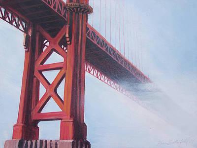 Golden Gate Bridge Art Print by Kean Butterfield