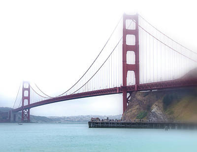 Photograph - Golden Gate Bridge by Laura DAddona