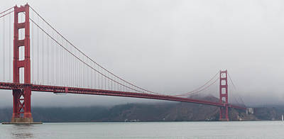 Photograph - Golden Gate Bridge by Maj Seda