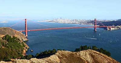 Photograph - Golden Gate Bridge by Mercedes Martishius