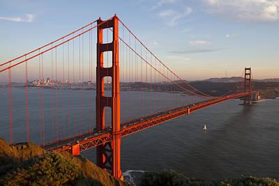 Golden Gate Bridge Art Print by Nathan Rupert